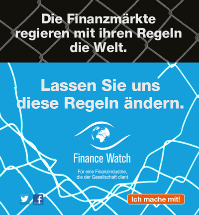 Finance rules the world. Let's change the rules.
